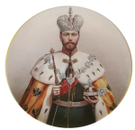 Decorative plates from the series - Russian empire